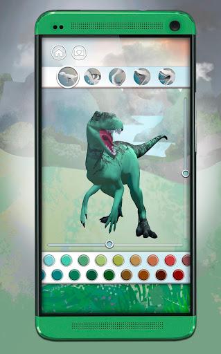 Dinosaurs 3D Coloring Book apkslow screenshots 6