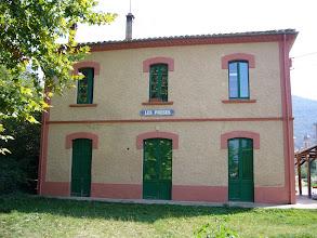 Photo: Les Preses - Antiga estació del ferrocarril Olot - Girona  http://www.trenolot.cat/