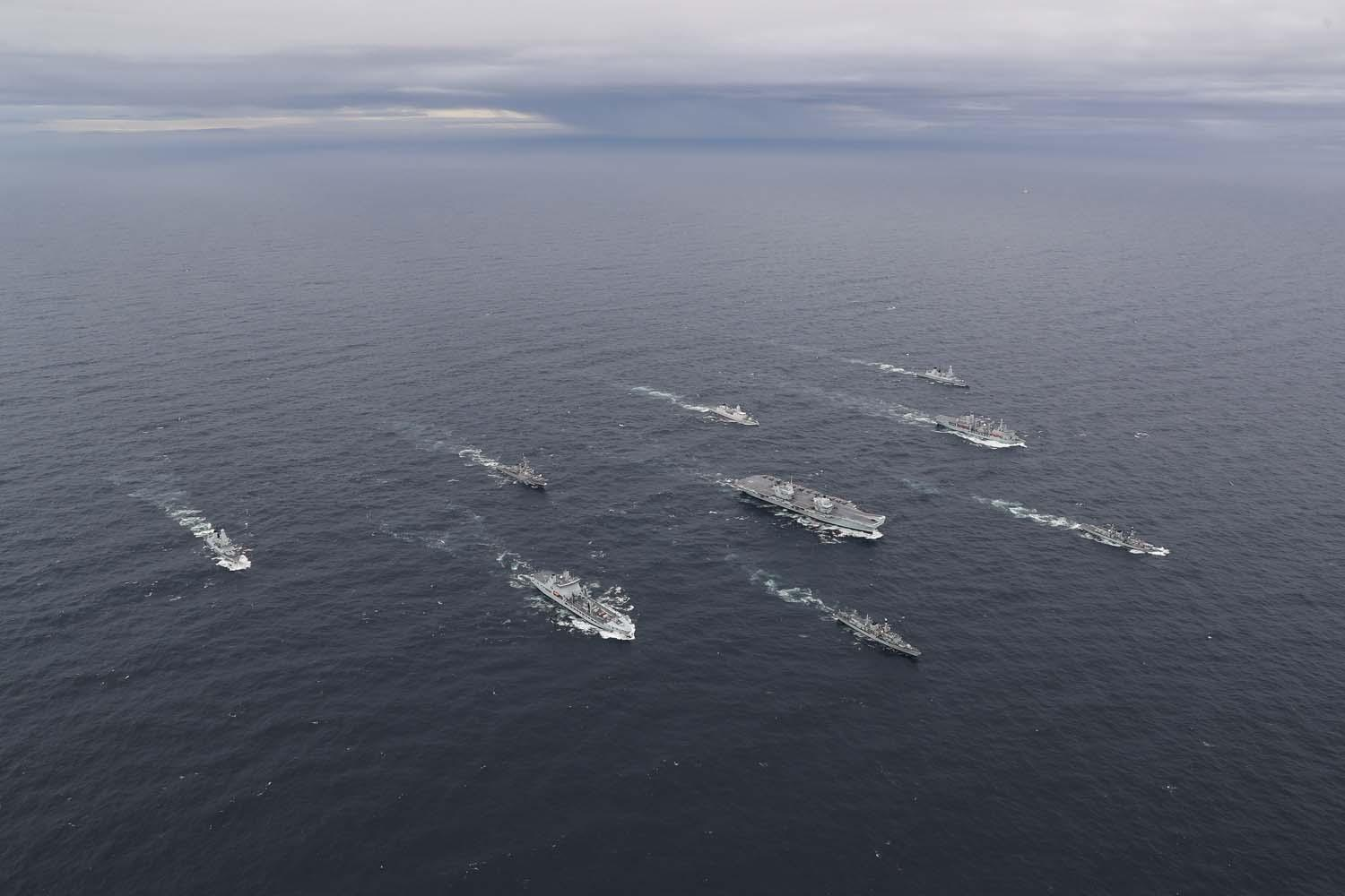 The evolving role of warships in the 21st-century navy