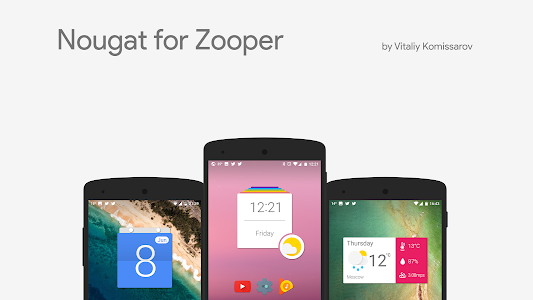 Nougat for Zooper screenshot 0