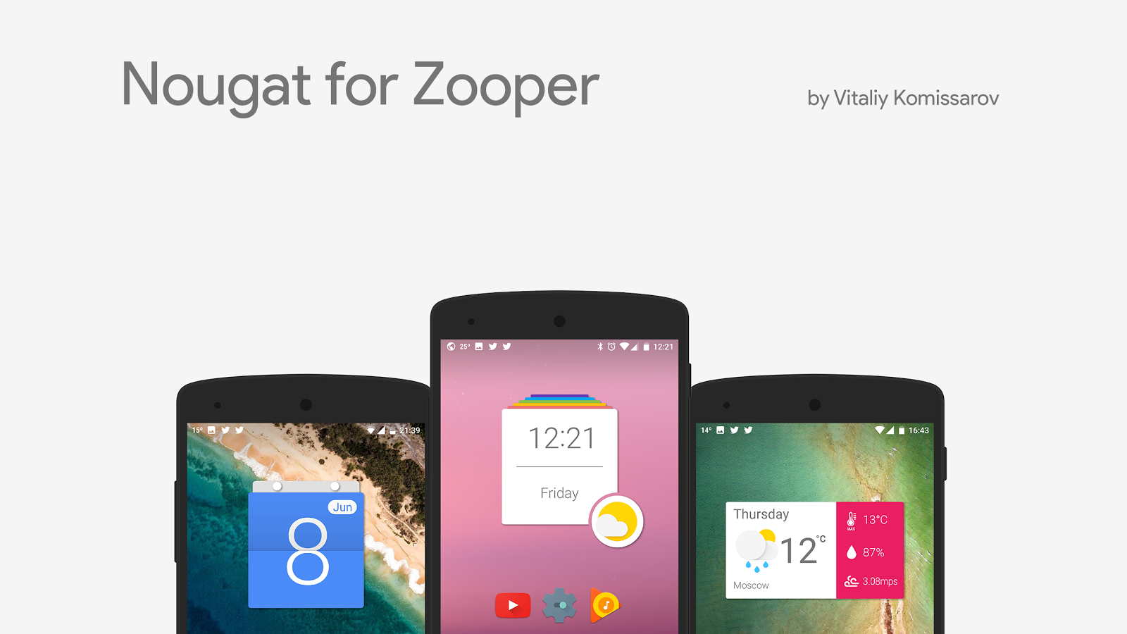 Nougat for Zooper- screenshot