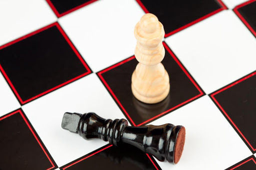 Chess Board human ♞