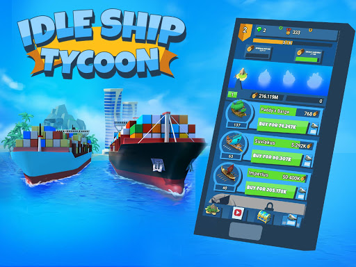 Idle Ship Tycoon: Port Manager Simulator apkmr screenshots 7