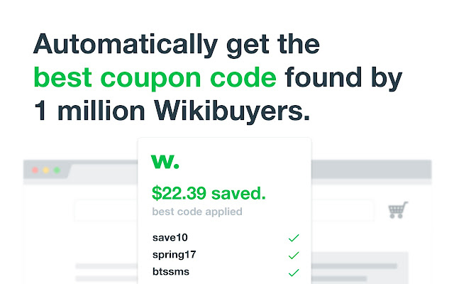 Wikibuy chrome web store get coupon codes loyalty rewards and better offers from other sellers by installing you agree to the terms at wikibuy fandeluxe Image collections