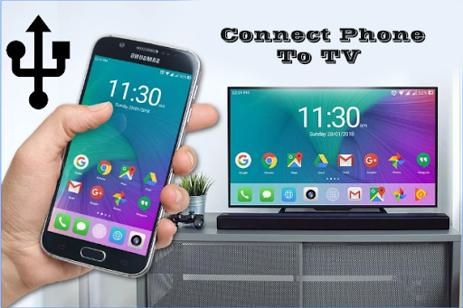 Phone Connect to tv (HDMI Connector) screenshot