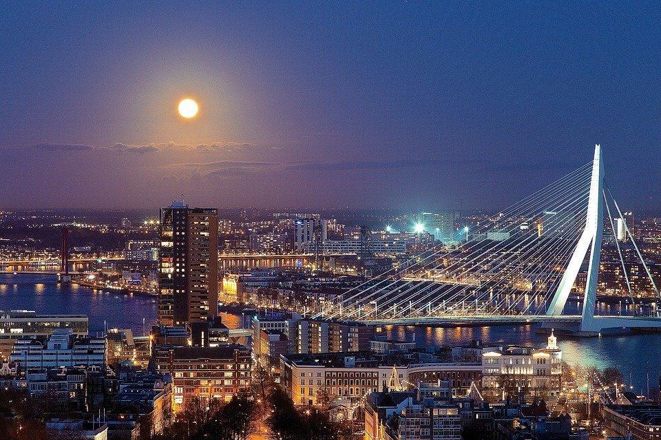 Rotterdam, Euromast, Nederland, Toren, Architectuur