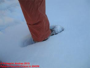 Photo: IMG_9896 finalmente i piedi in mezzo a una nevicata