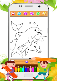Coloring Book animal - náhled