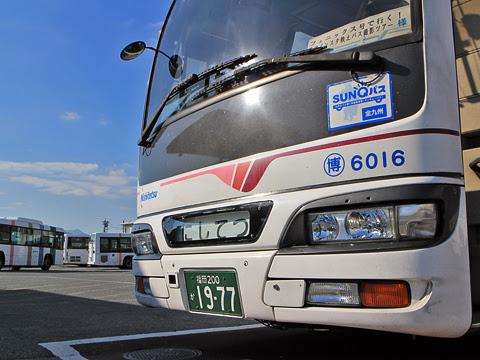 西鉄 6016 西鉄愛宕浜営業所にて その2