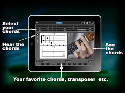 Ukulele Chords lite- screenshot thumbnail
