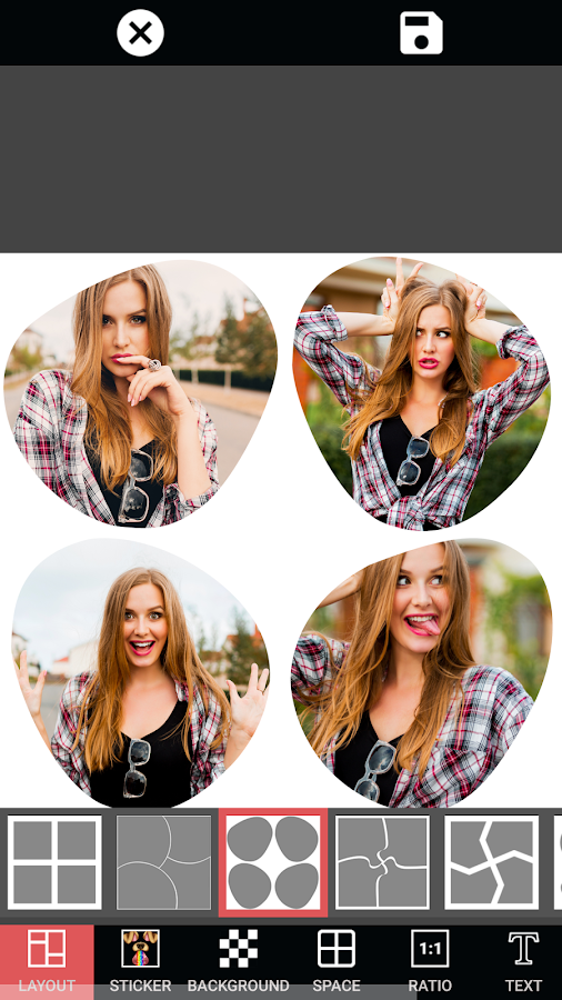 Screenshots of Collage Photo Maker Pic Grid for iPhone