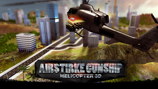 Air Strike Gunship Helicopter