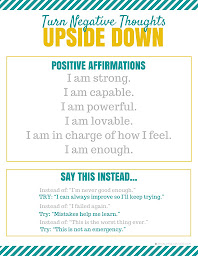 CTC: Negative Thought Changer Printable