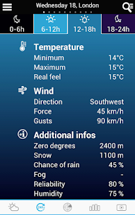 Weather for Switzerland- screenshot thumbnail