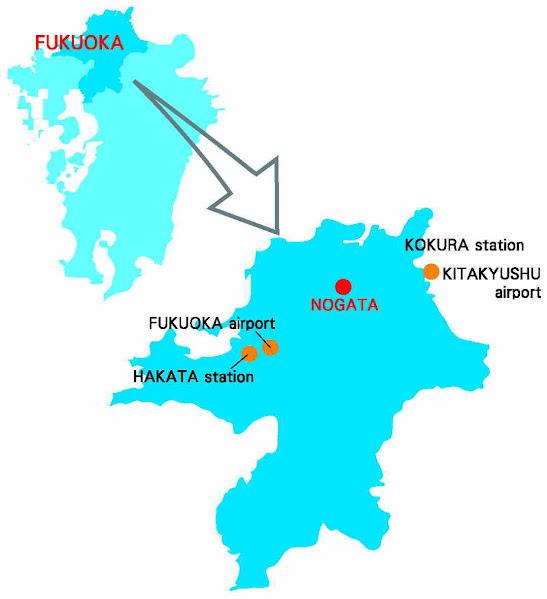 bản đồ học viện giáo dục quốc tế Japan
