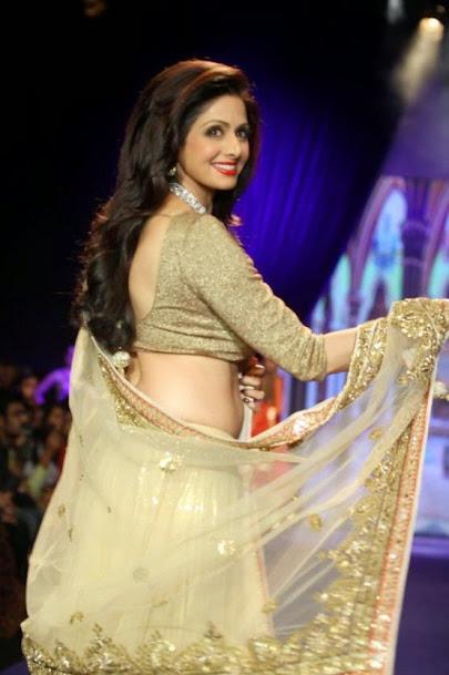 Sridevi Kapoor fashion show, Sridevi Kapoor photos