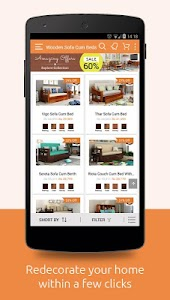 WoodenStreet: Furniture Online screenshot 1