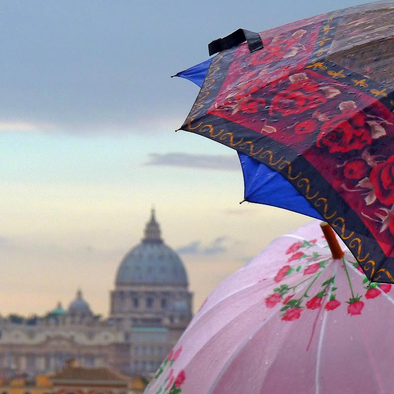 Ombrelli bagnati di Justinawind