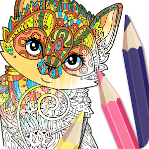 Cat Coloring Pages for Adults - Android Apps on Google Play