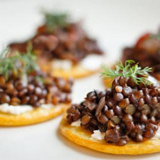 Beluga Lentil Caviar