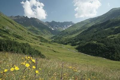 Landschaftlich ist die Strecke über den  Zagaro Pass die schönster dieser Tour.