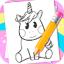 How To Draw Unicorns APK icon