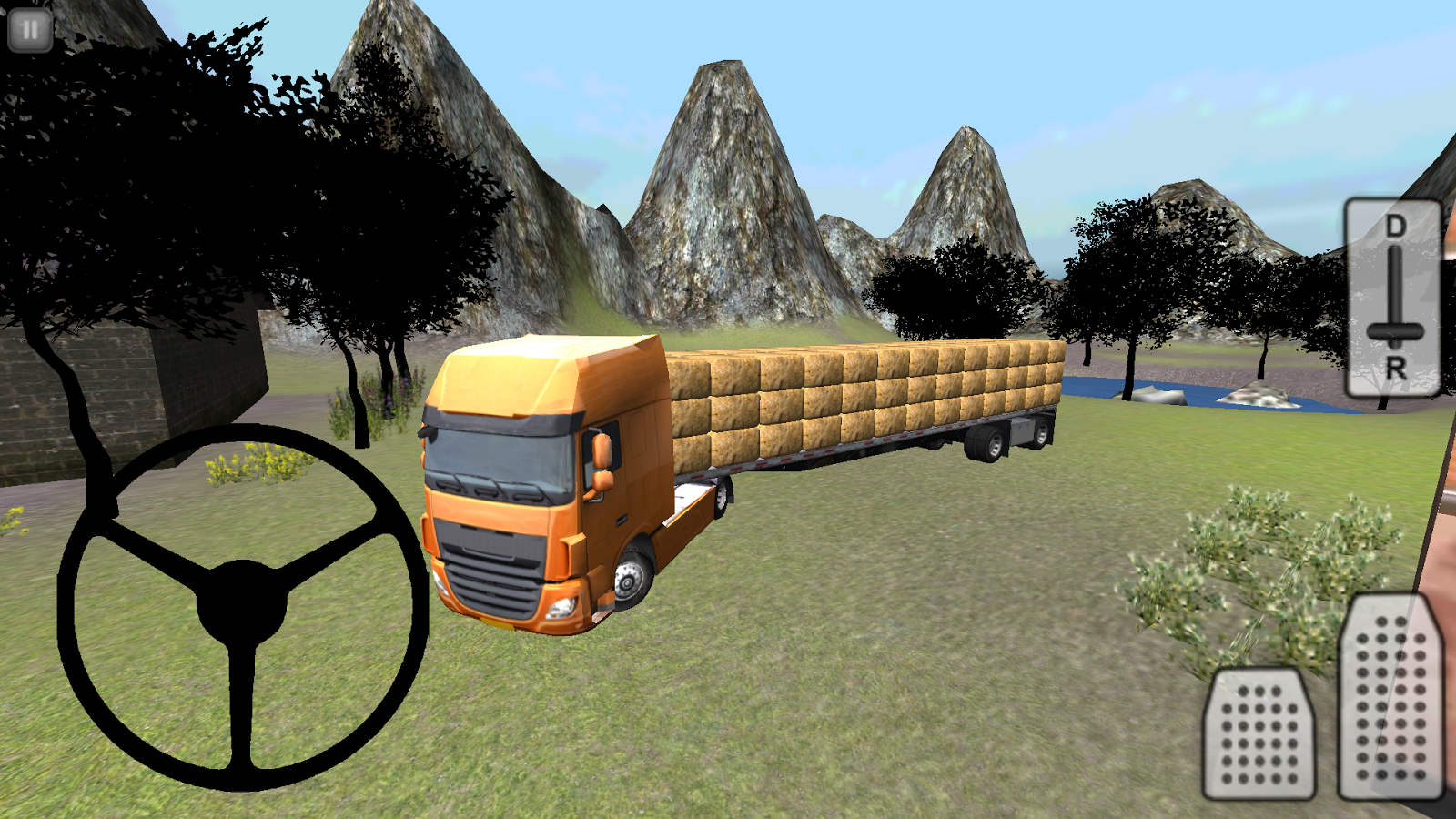 Farm Truck 3D: Hay- screenshot