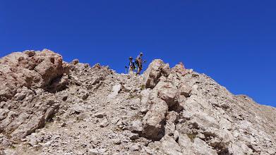 Photo: Darn near the summit.