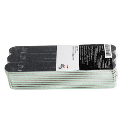 30-pack 2-sidiga 100/180, black