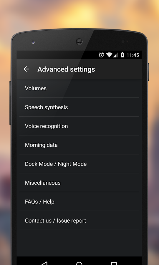 WakeVoice - vocal alarm clock- screenshot