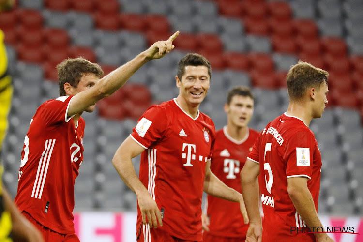 Quadruplé de Lewandowski et victoire au bout du suspense pour le Bayern