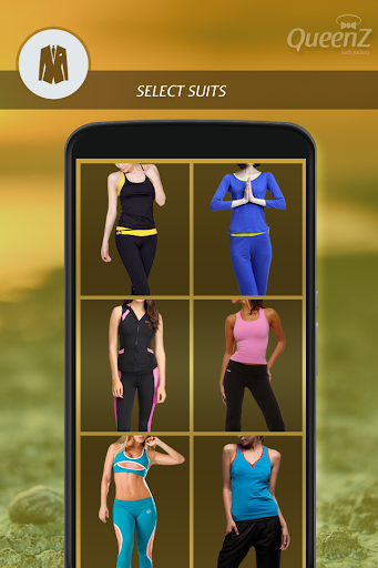 Fitness Girl Photo Suit