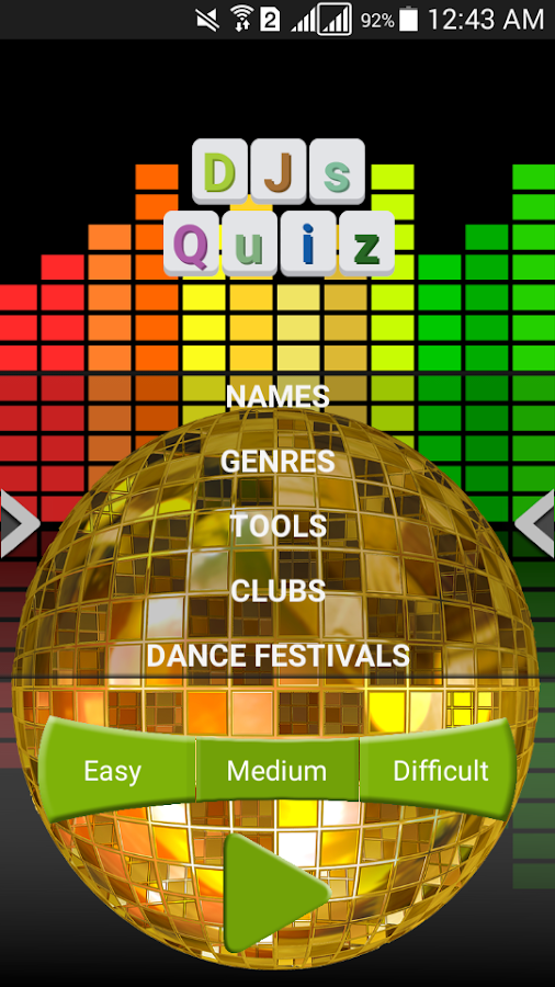 DJs Quiz- screenshot