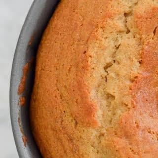 Cardamom Honey Bundt Cake + Maple Whipped Cream.
