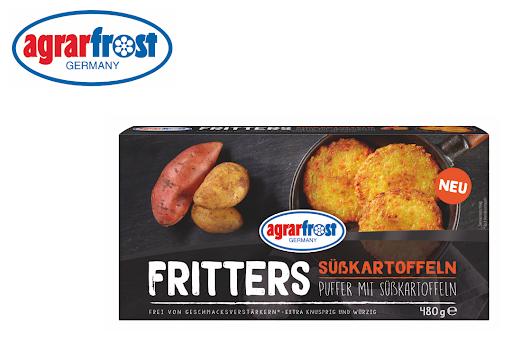 Bild für Cashback-Angebot: Fritters - Puffer mit Süßkartoffel - Agrarfrost