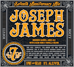 Joseph James 7th Year Anniversary Barrel Aged W/ Cacao Nibs & Vanilla Bean