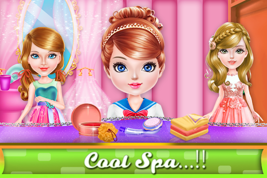 Girls Hairdresser Salon