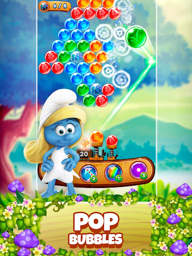 Smurfs Bubble Shooter Story 2.15.050204 screenshots 9