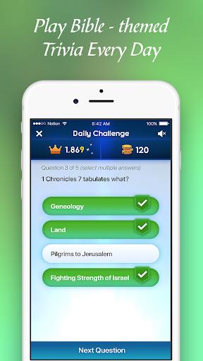 BibleMania - Christian Trivia 1.1.0 Cheat screenshots 1