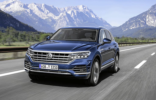 The new Touareg has much more of its own design identity even if it does share a lot with its Group siblings