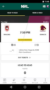 NRL Official App- screenshot thumbnail