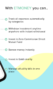 Mutual Funds, SIP, Loan, Credit, Expenses: ETMONEY 2
