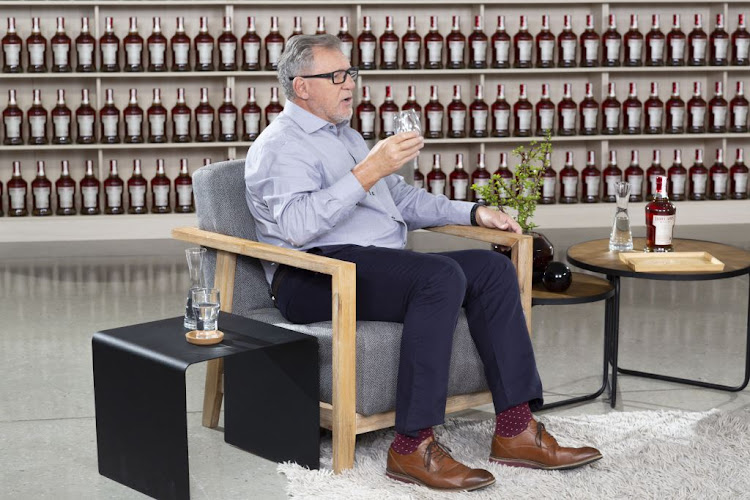 Multi-award winning master distiller Andy Watts.