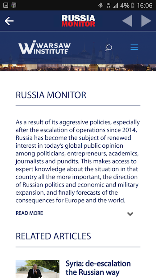 Russia Monitor- screenshot