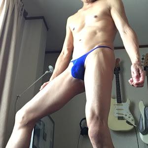 TopModeJapanのブルーのTバック