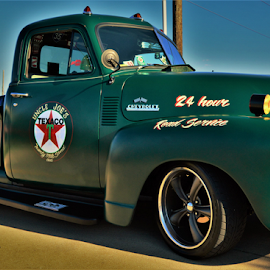 Garage truck by Benito Flores Jr - Transportation Automobiles ( truck, garage, texas, car show, killeen )