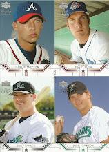 Photo: 2002 UD Premiere Prospects Quads 313/600