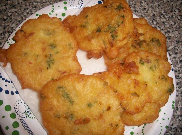 Frituras De Bacallao (cod Fish Fritters) Recipe