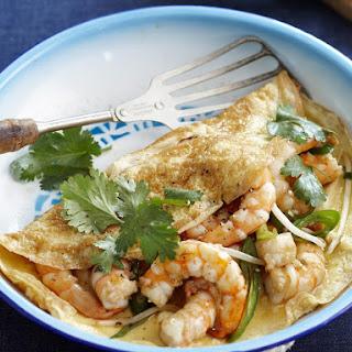 Shrimp Omelet.