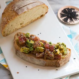 Tuna On Toast Healthy Recipes.